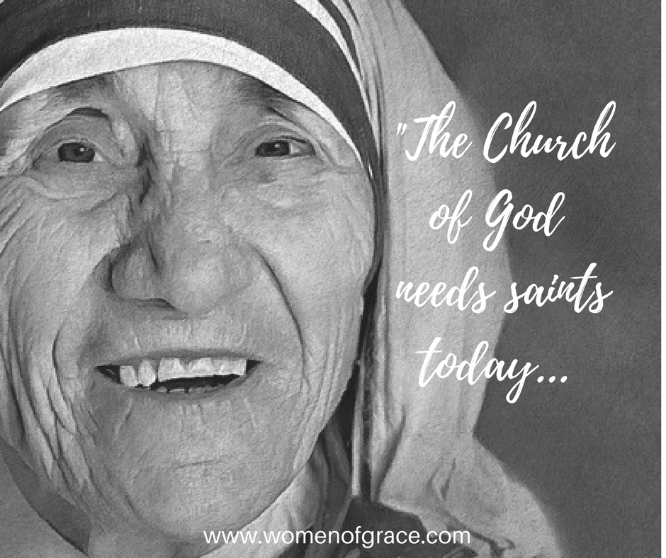 The Church of God needs saints today