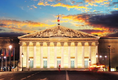 French Parliament, Paris, France
