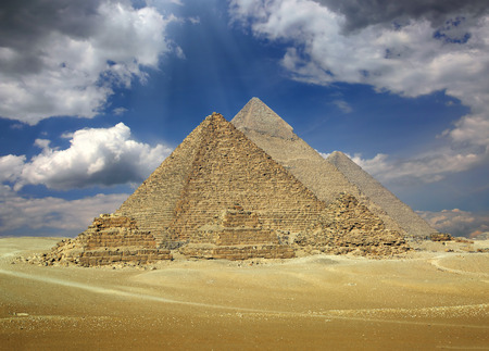 35857487 - great pyramids at giza cairo in egypt