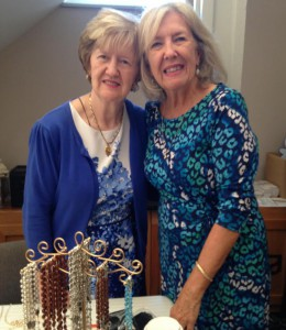 Judy Studer (L) and Joan Alix