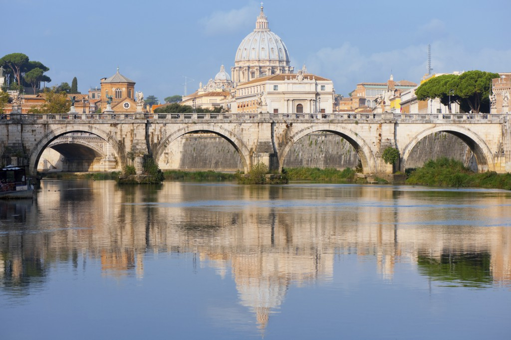 vatican in morning