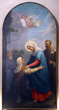 37248060 - visitation of the blessed virgin mary