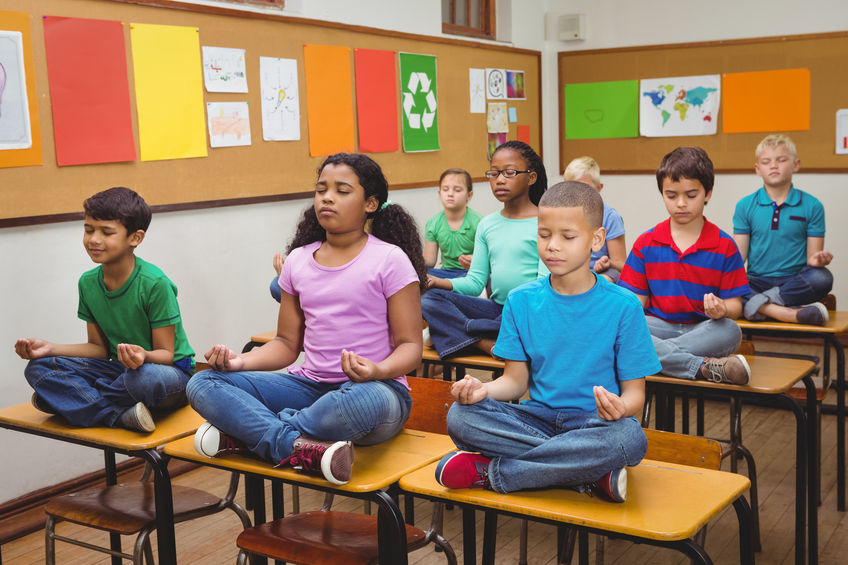 CHILDREN IN PUBLIC SCHOOLS A PRAYER BUMPER STICKER